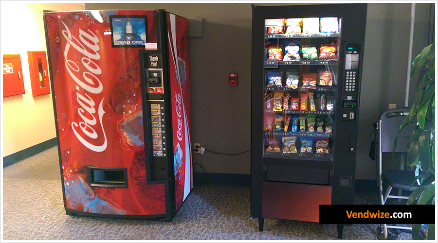 Coca-Cola and Snack Vending Machines