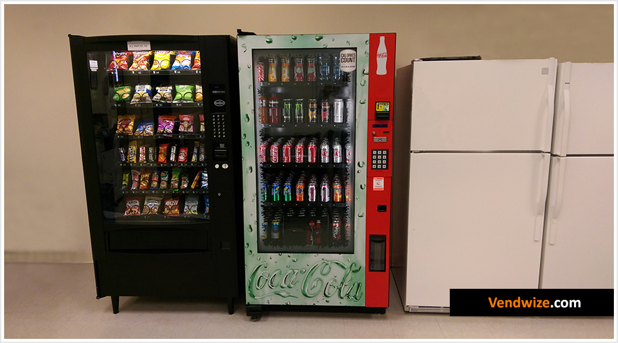 Glassfront Vending Machines