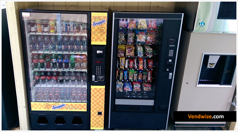 Ice and Soda Vending Machines